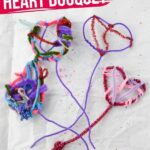 Pipe Cleaner Heart Bouquet