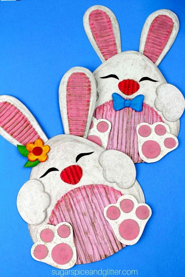 Recycled Bunny Craft
