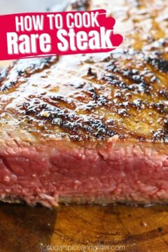 How to Cook a Rare Steak