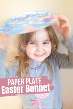 Paper Plate Easter Bonnets