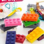 Lego Block Crayons