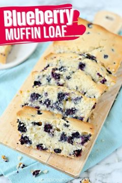 Blueberry Muffin Bread (with Video)