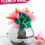 Disco Ball Vase