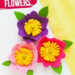 No-Sew Felt Flowers