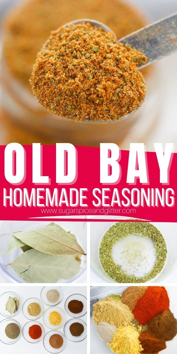 How to make your own Copycat Old Bay Seasoning, the perfect homemade version of this classic all-purpose seasoning blend. Add it to your favorite seafood recipes or just about anything that could use some zesty flavor