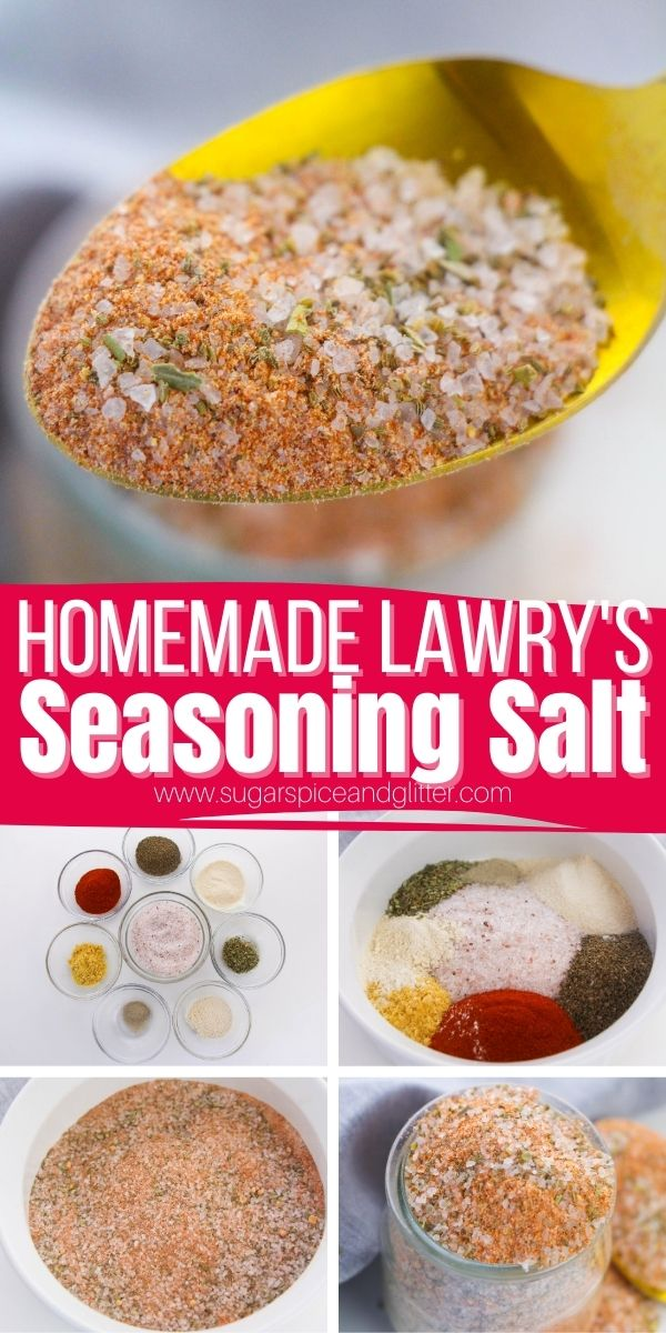 How to make homemade seasoning salt to add a robust flavor profile to your favorite dishes, without the additives or expensive of store-bought jars. Adjust the salt called for in the recipe to your personal preferences.