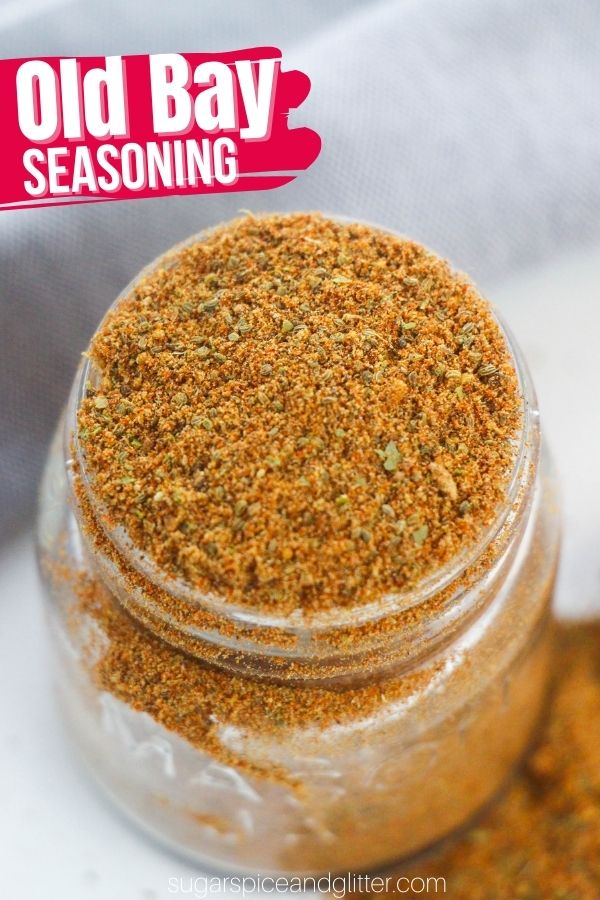 A zesty and robust homemade Old Bay seasoning blend, perfect for using in your favorite seafood recipes but also delicious in so many more dishes, including beef, sauces, popcorn, french fries, etc.