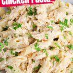 Olive Garden Crockpot Chicken Pasta (with Video)