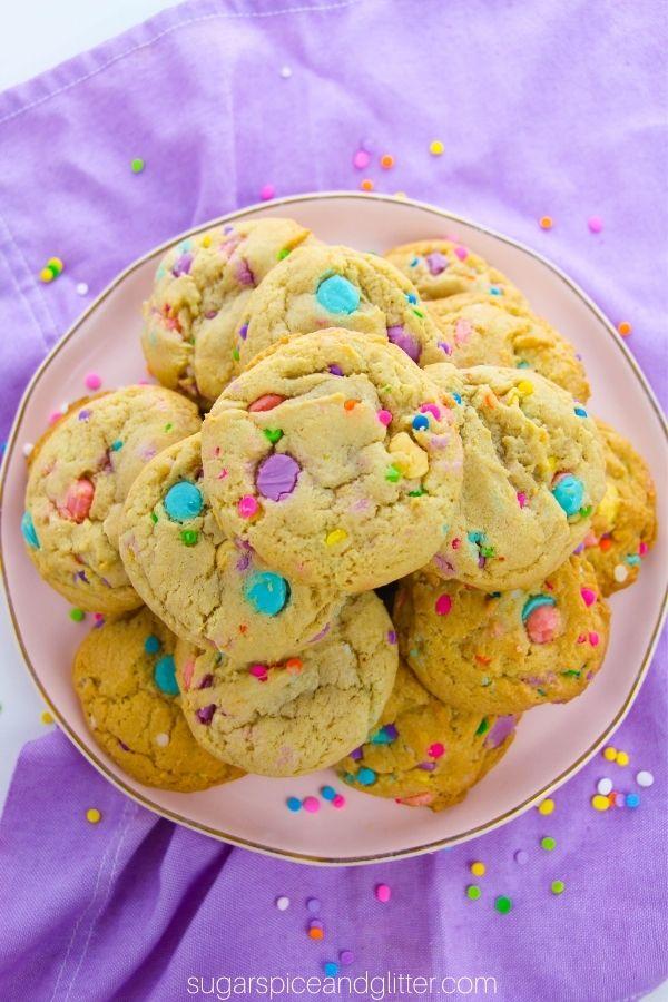 Unicorn Chocolate Chip Cookies