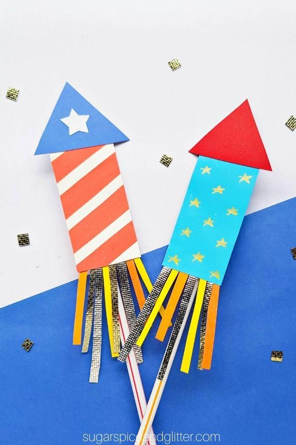 Paper Firework Craft for Kids