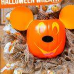 Mickey Pumpkin Wreath