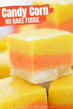 Candy Corn Fudge (with Video)