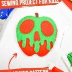 Felt Poison Apple Sewing Craft