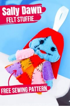 Sally Dawn Stuffie Sewing Project for Kids (with Video)